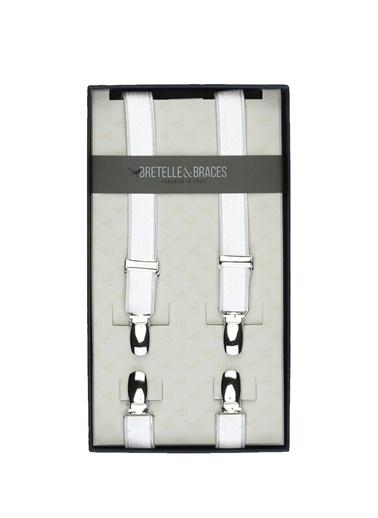 Bretelle & Braces Pantolon Askısı Beyaz
